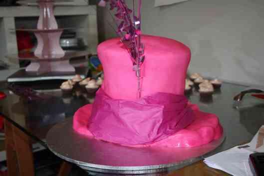 Minnie's Madhatter Cake 1