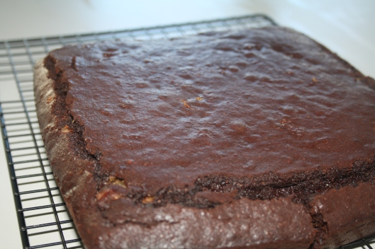 Blog - brownie cooling on rack