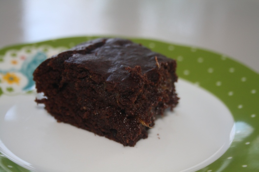 Blog - brownie on plate