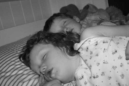 Blog - sleeping children