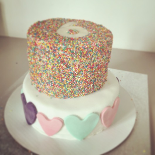 Blog Minnie's 6th birthday cake